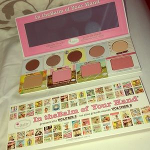 Brand new In the Balm of your hand vol 2 palette.